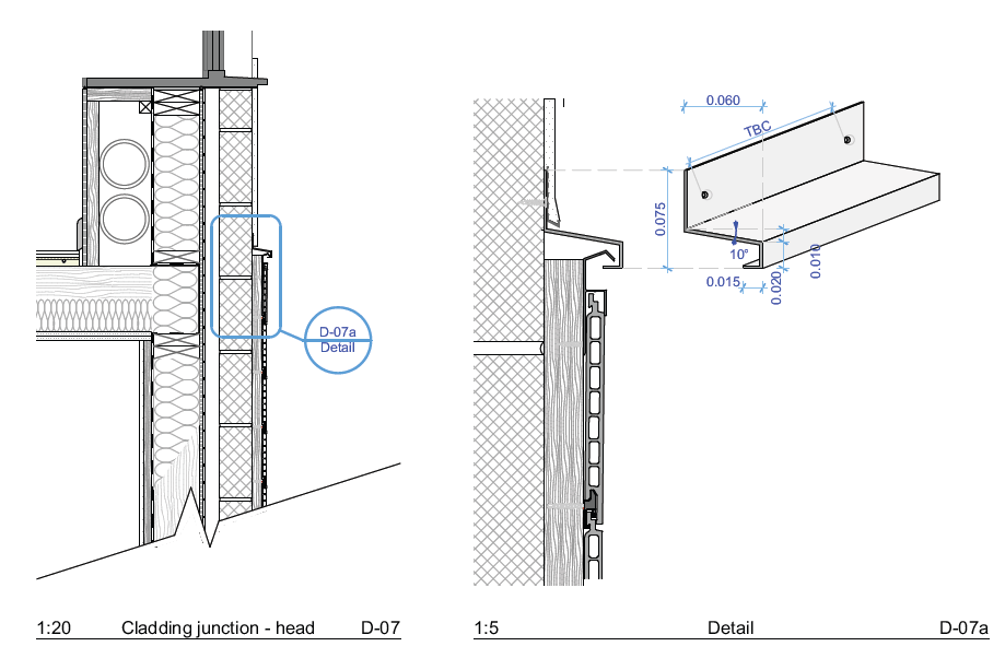 Märraum Architects_St Mawes_new build_drawings_cladding detail 2