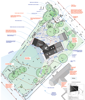 Märraum Architects_St Mawes_new build_drawings_planning site plan