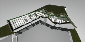 Märraum Architects_St Mawes_new build_drawings_roof construction cgi