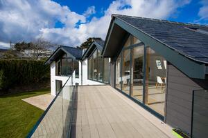 Märraum Architects_St Mawes_new build_construction_balcony
