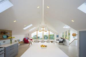 Märraum Architects_St Mawes_new build_kitchen views