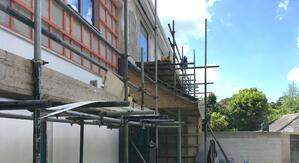 Märraum Architects_Falmouth_full house renovation_construction_entrance
