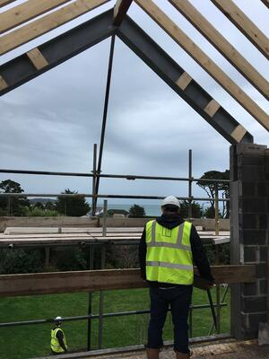 Märraum Architects_Falmouth_full house renovation_construction_gable