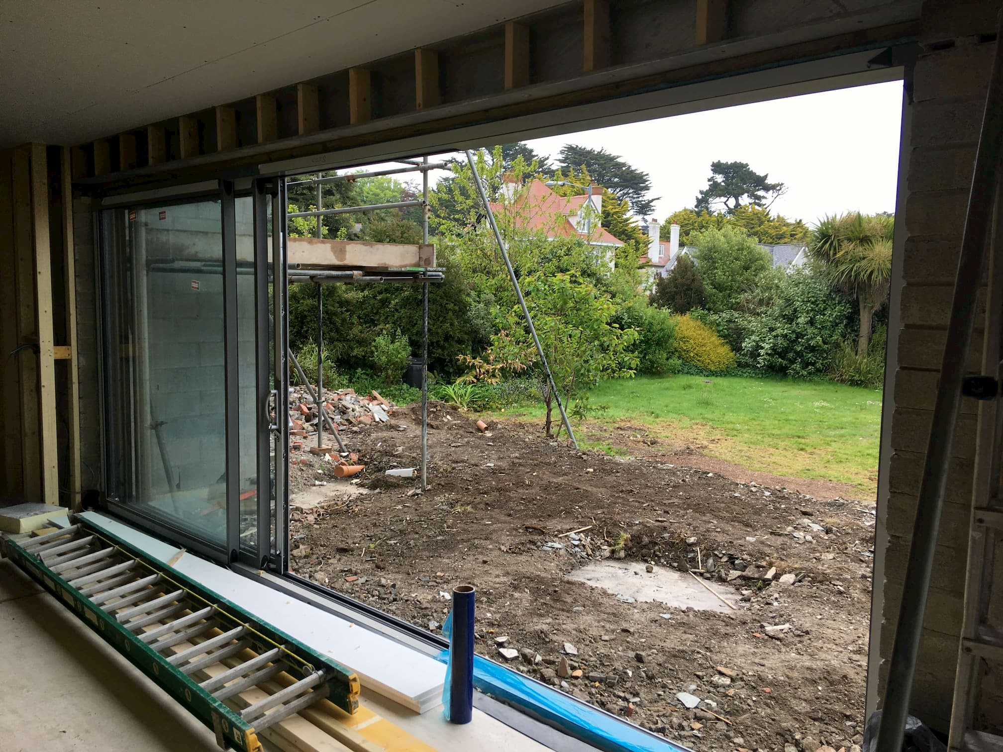Märraum Architects_Falmouth_full house renovation_construction_opening