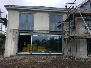 Märraum Architects_Falmouth_full house renovation_construction_rear opening