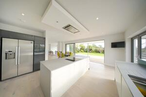 Märraum Architects_Falmouth_full house renovation_kitchen view