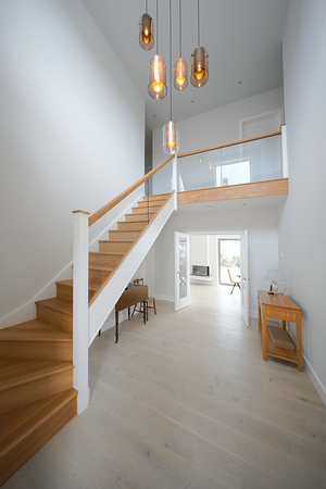 Märraum Architects_Falmouth_full house renovation_staircase entrance