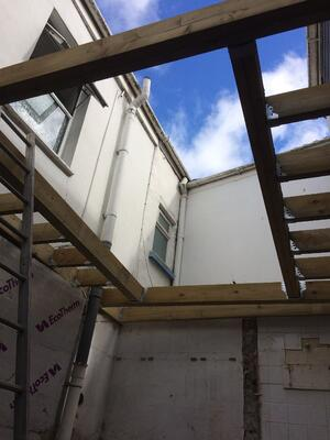Märraum Architects_Falmouth_renovation_construction_roof