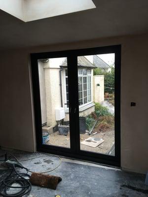 Märraum Architects_Falmouth_Garage conversion_construction doors