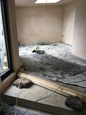Märraum Architects_Falmouth_Garage conversion_construction steps