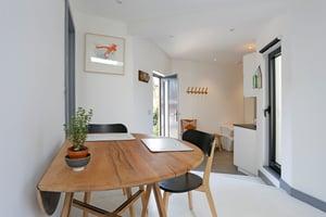 Märraum Architects_Falmouth_Garage conversion_front door