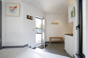 Märraum Architects_Falmouth_Garage conversion_frontdoor