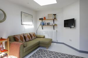 Märraum Architects_Falmouth_Garage conversion_lounge