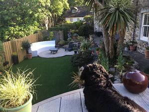 Architects_Perranporth_full renovation_Landscaping upper terrace view-min