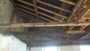 Märraum Architects_Falmouth_Town house renovation_construction_roof