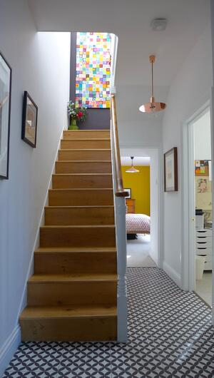 Märraum Architects_Falmouth_Town house renovation_ground floor entrance