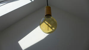 Märraum Architects_Falmouth_Town house renovation_hall light