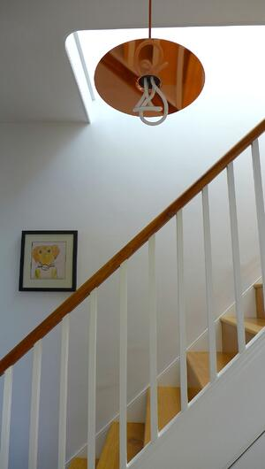 Märraum Architects_Falmouth_Town house renovation_light stairs