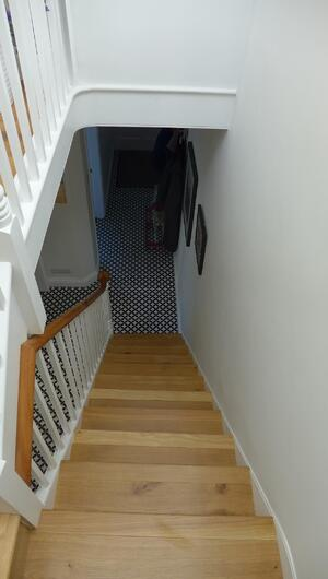 Märraum Architects_Falmouth_Town house renovation_staircase