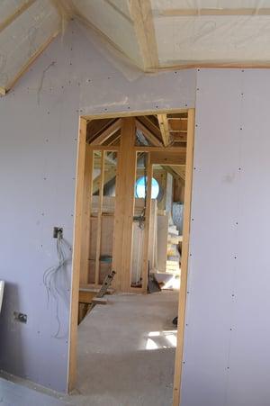 Märraum Architects_Chapel Porth_Full House renovation_construction_plasterboard
