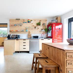 Märraum Architects_Chapel Porth_Full House renovation_Kitchen 1 Sq