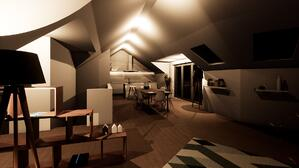 Märraum Architects_St Just_new build_internal night cgi - small