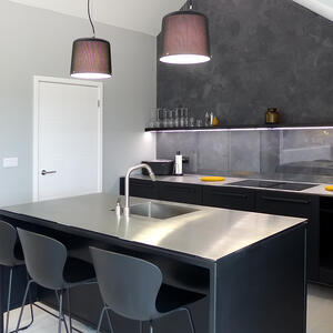 Märraum Architects_St Just_new build_Kitchen1
