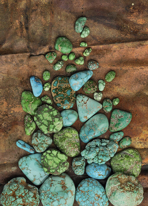 SUNWEST SILVER CO INC CARICO LAKE TURQUOISE