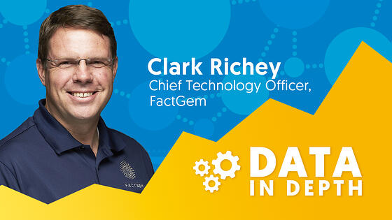 Data In Depth podcast guest Clark Richey.