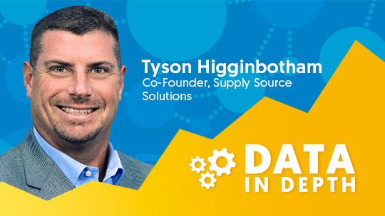 Data in Depth guest Tyson Higginbotham