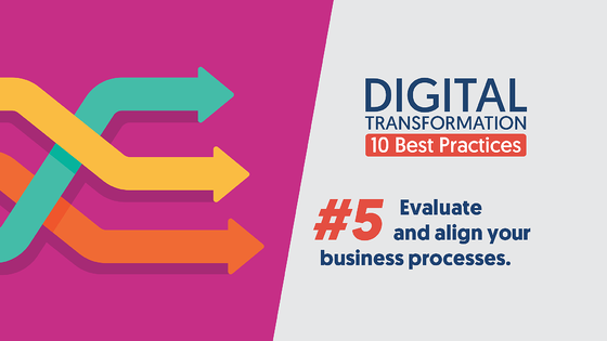 DigitalTransformation-10BestPractices-05-EvaluateAndAlignBusinessProcess