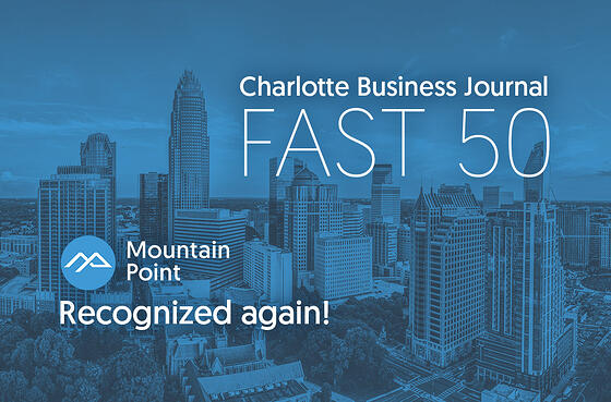 MountainPoint-CharlotteBusinessJournal-Fast50-Charlotte-2018