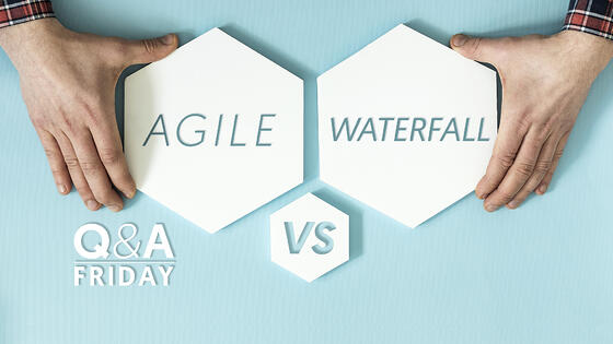Q&A-Storey-Agile-vs-Waterfall-TitleScreen