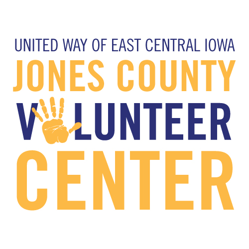 Jones County Volunteer Center Logo - 4C - Square