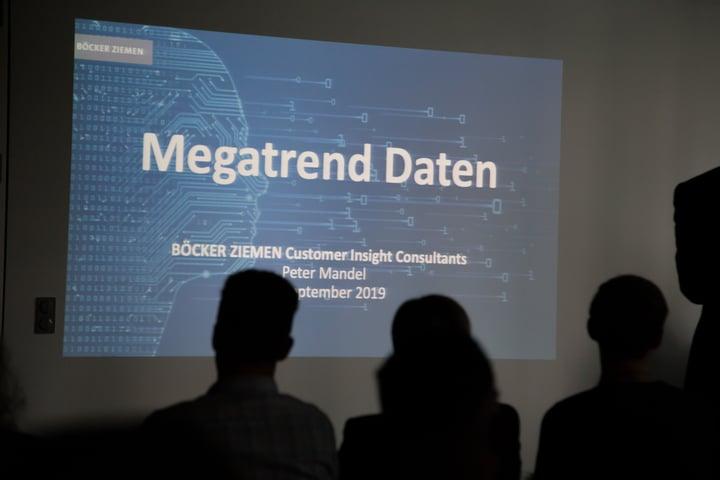Das war unser Rock the Data Meetup im September