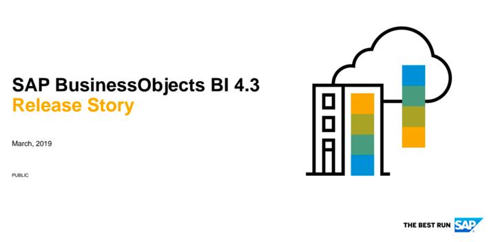 SAP BI Platform 4.3 Neuigkeiten - das neue Release