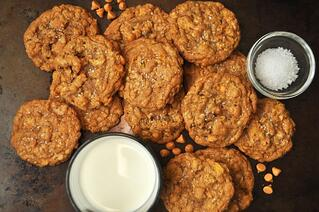 Salted Brown Butter Cornflake Cookies