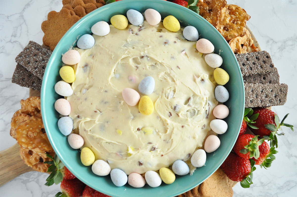 Cadbury Mini Eggs Dip