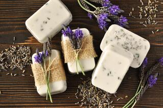 DIY Lavender Goat's Milk Soap