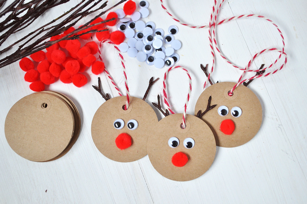 Rudolph Gift Tag