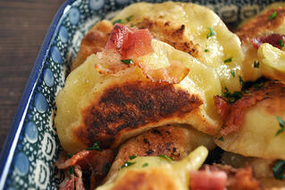 Bacon Potato Pierogi