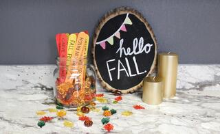 DIY Fall Bucket List