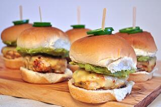 Jalapeño Pepper Jack Chicken Sliders