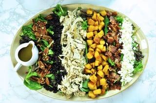 Leftover Turkey Harvest Salad
