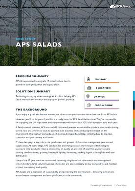 APS Salads Case Study Image