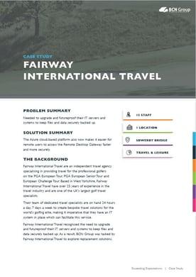 Fairway Case Study Image