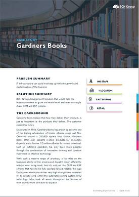 Gardners Books Case Study Image