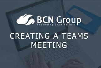 Creating a Teams Meeting-1-2