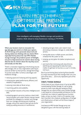 HPE Nimble Insight Guide