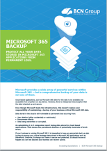 Microsoft 365 Backup Image